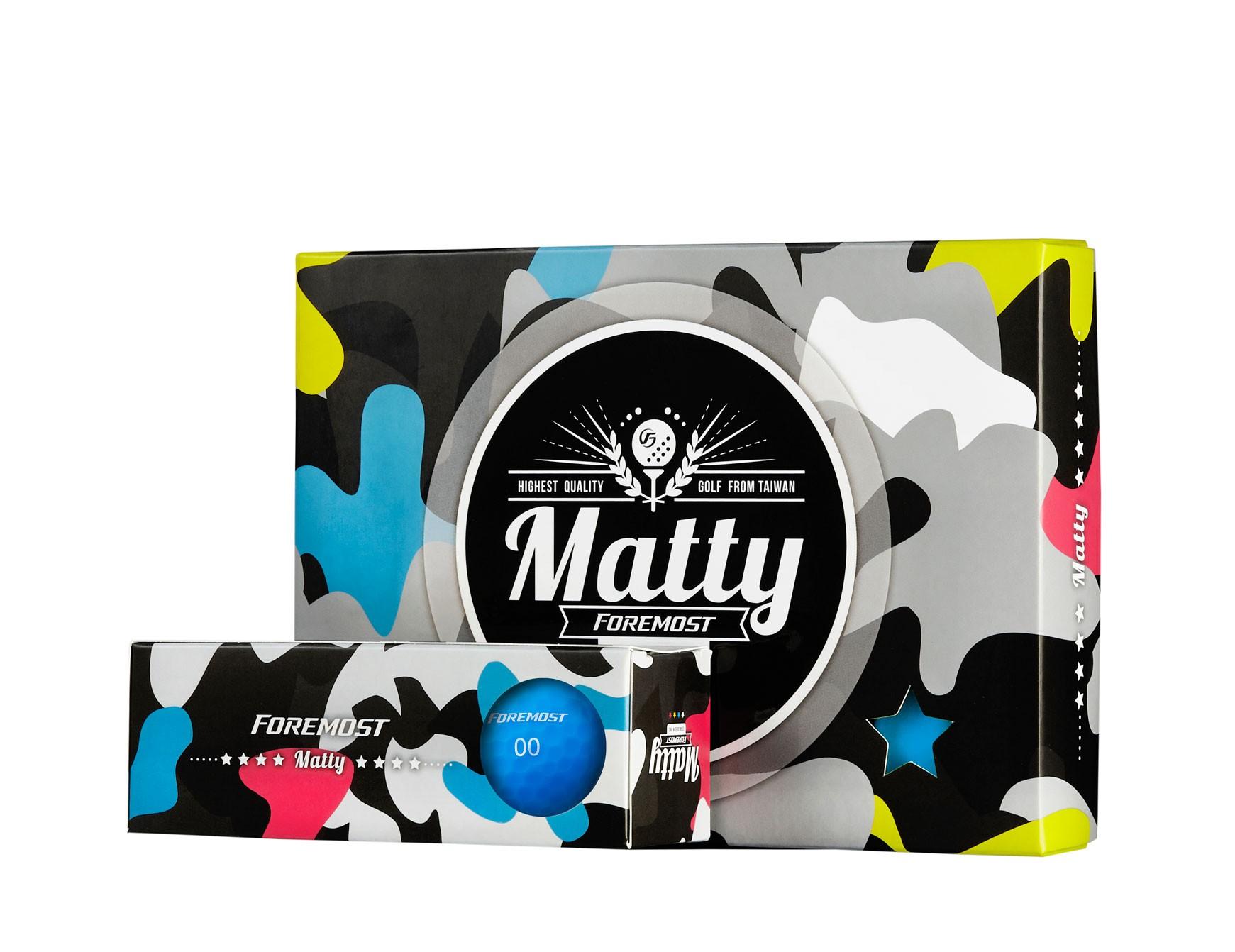 Matty 特霧消光球 - 瑩光藍